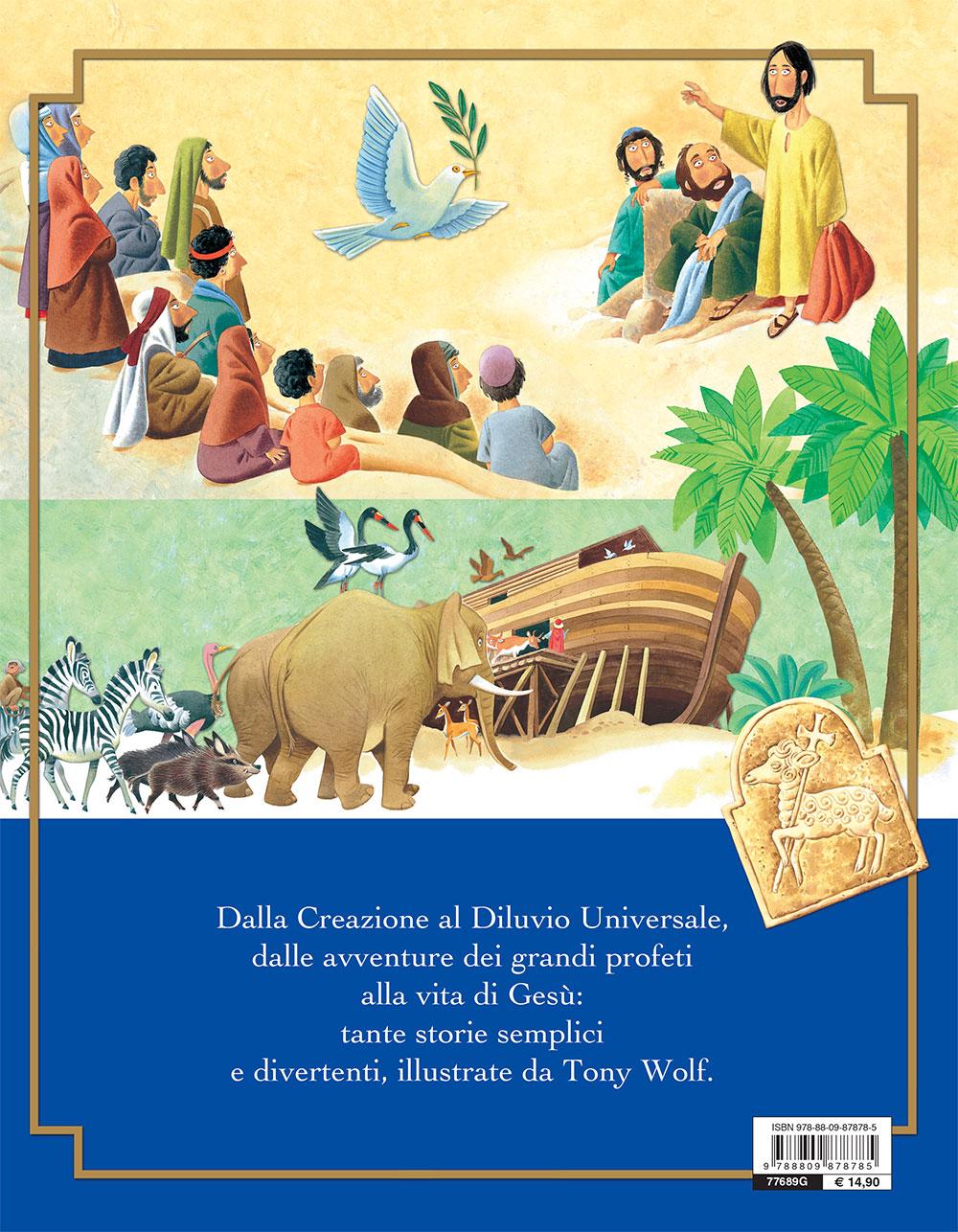 La Bibbia e la vita di Gesù raccontate ai più piccoli