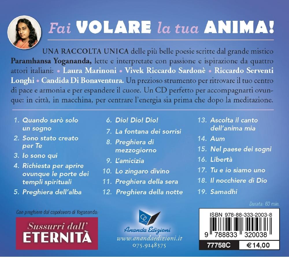 Fai volare la tua anima! - CD Poesie mistiche di Yogananda