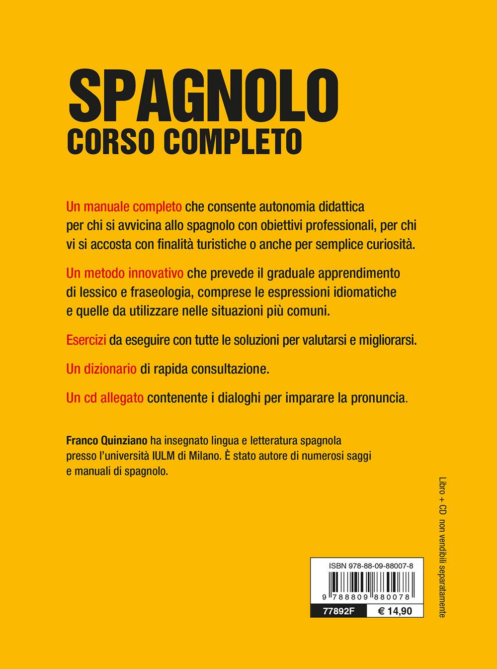 Spagnolo. Corso completo con CD e MP3