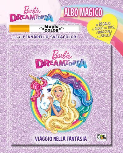 Albo Magico Barbie - Viaggio nella fantasia