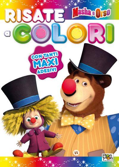 Sticker&Color Masha e Orso - Risate a colori