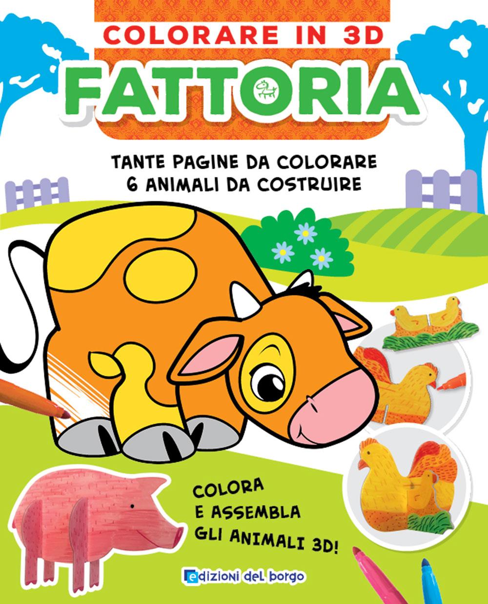 Colorare in 3D - Fattoria