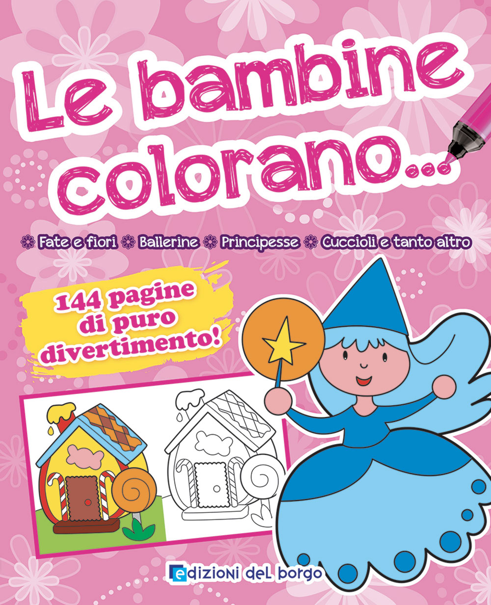 Le bambine colorano