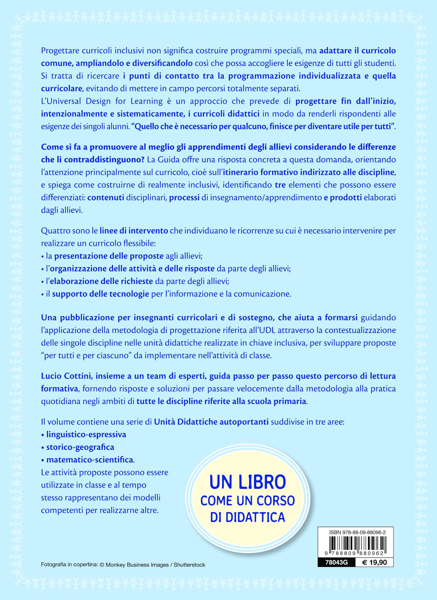 Universal Design for Learning e curricolo inclusivo