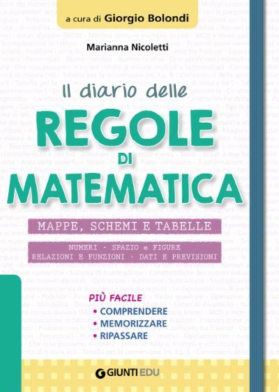 Il Diario delle regole di Matematica
