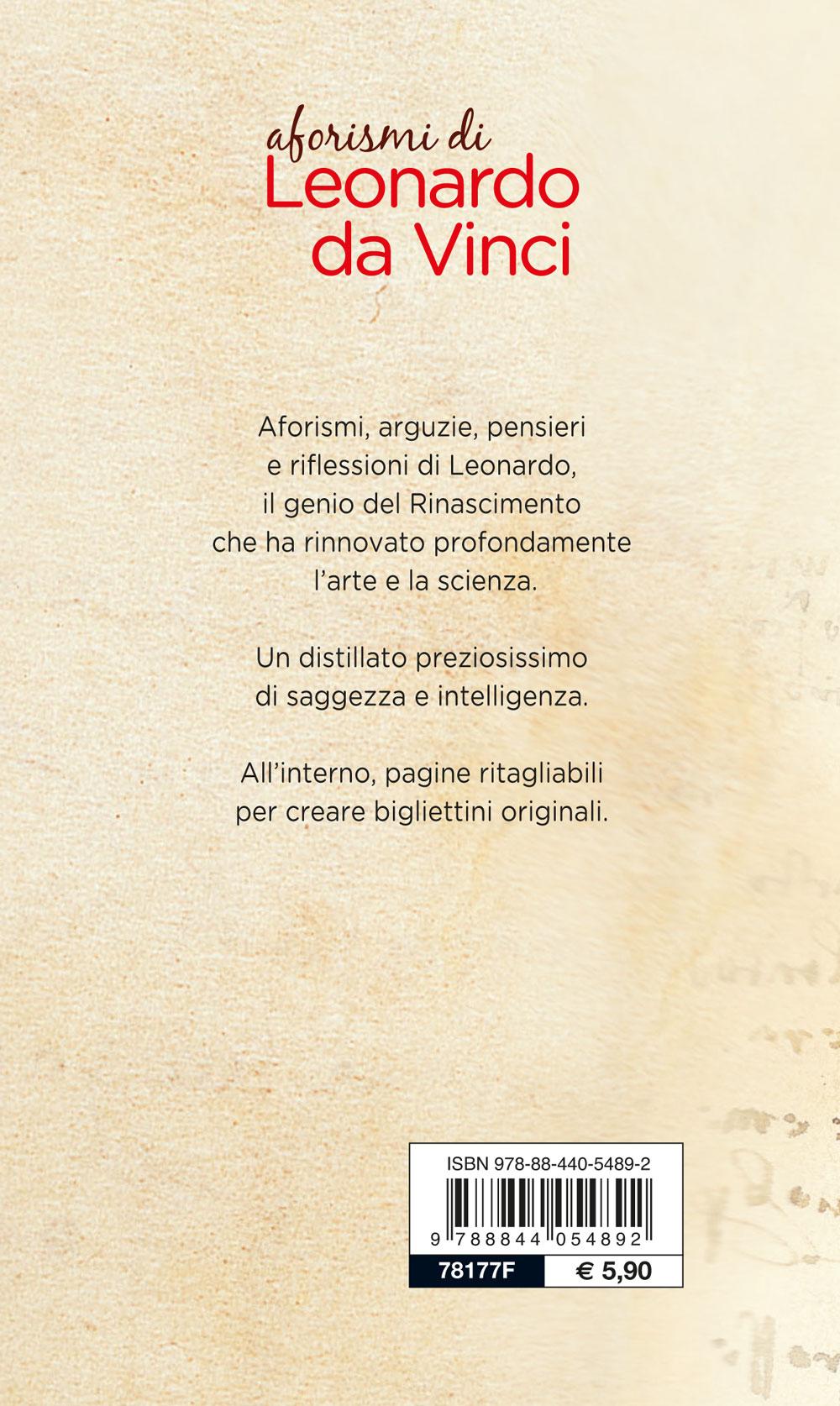 Aforismi di Leonardo Da Vinci