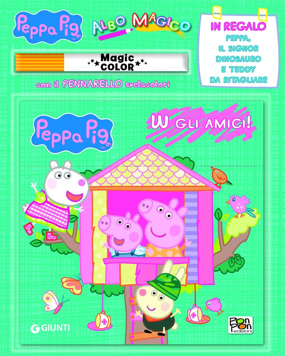 Albo Magico W gli Amici! Peppa Pig