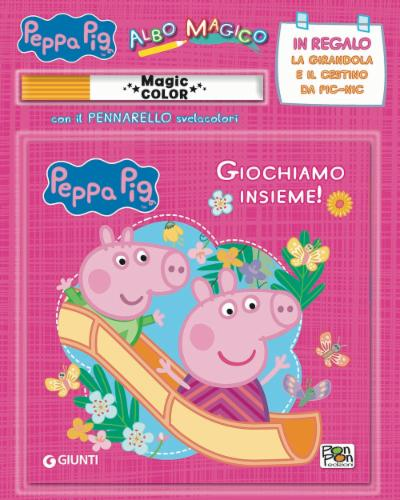 Albo Magico Giochiamo Insieme! Peppa Pig