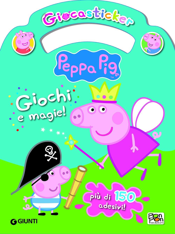 Giocasticker Peppa Pig - Giochi e magie!
