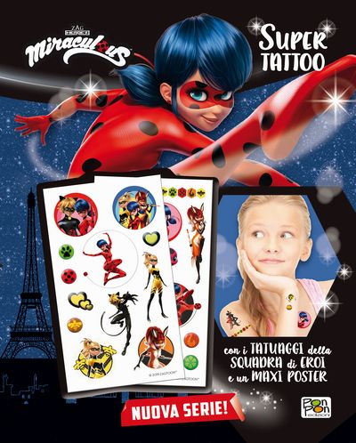 Libro Tattoo - Miraculous