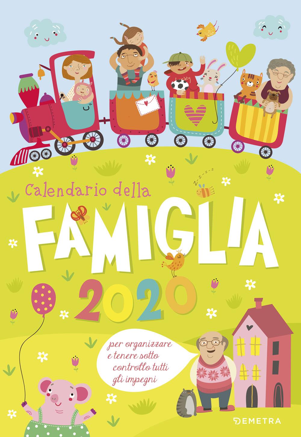 Calendario della famiglia 2020