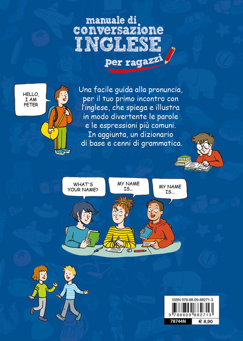 Manuale di conversazione Inglese per ragazzi