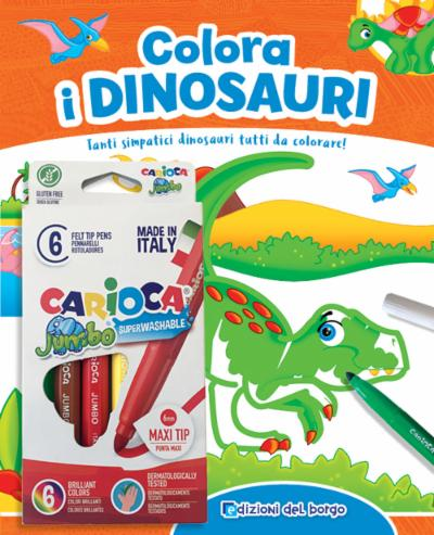 Colora i Dinosauri + pennarelli