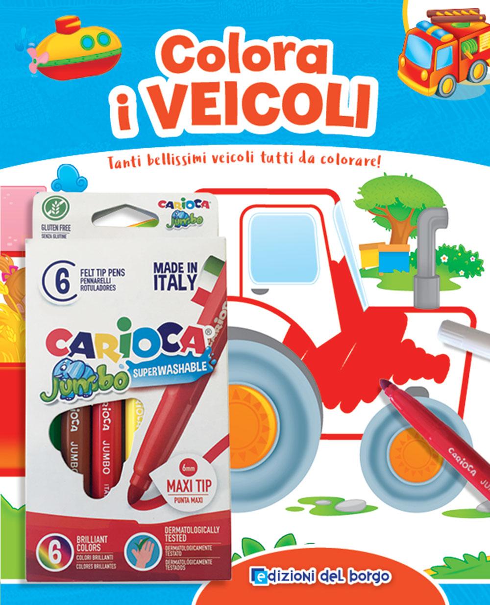 Colora i veicoli + pennarelli