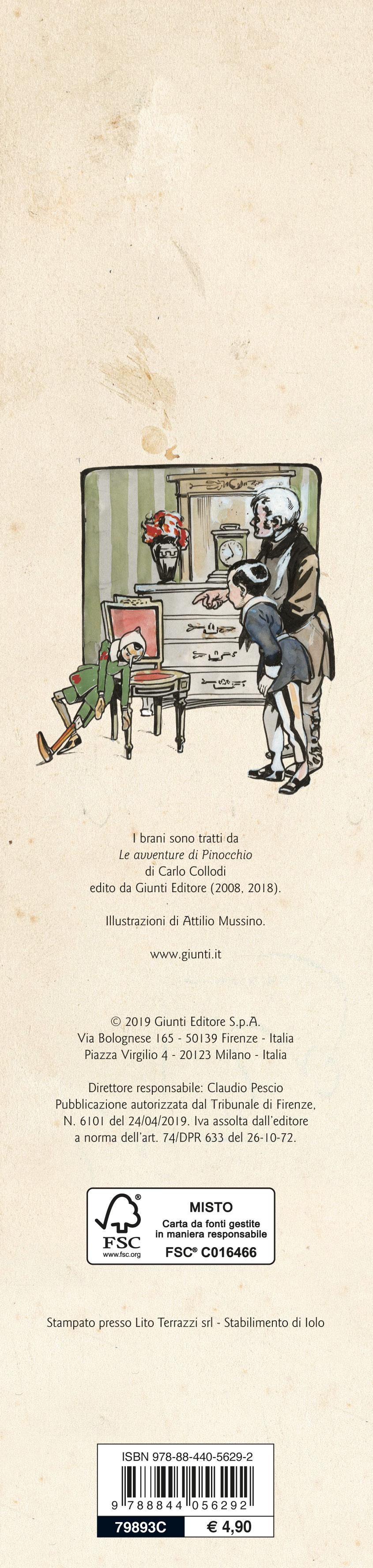Calendario Iva 2020.Calendario Pinocchio 2020 Giunti