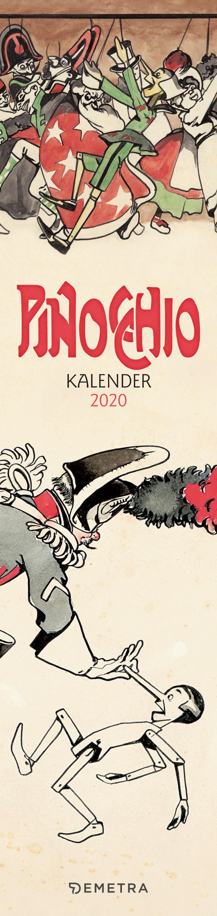 Pinocchio Kalender 2020