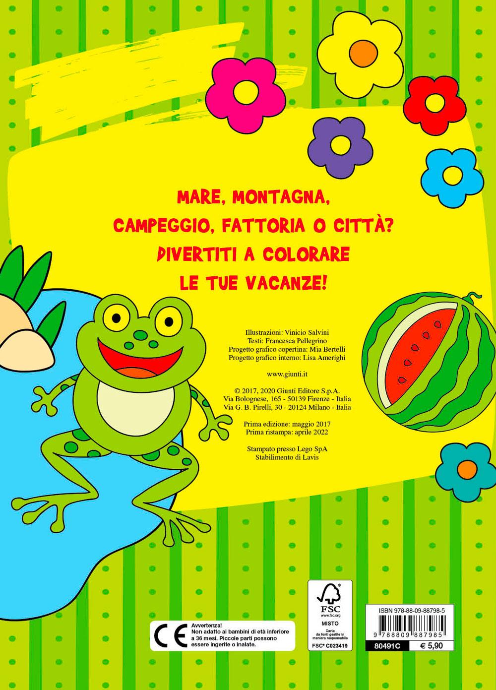 Maxi multicolor per le vacanze