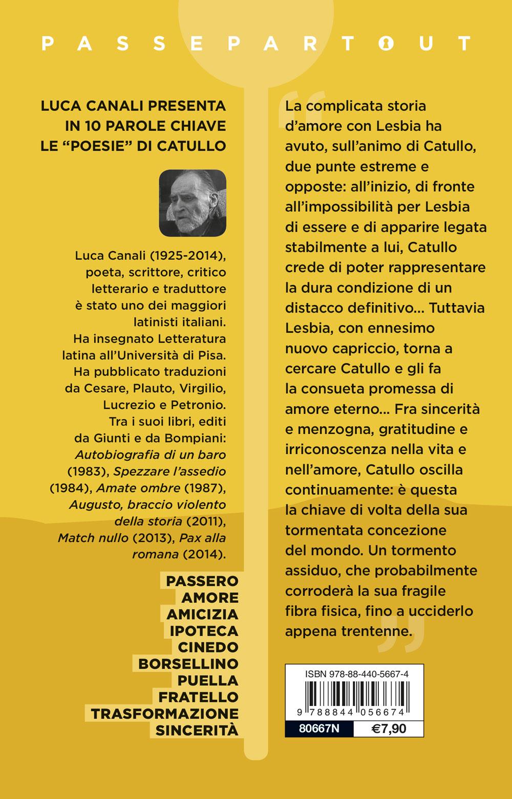 Poesie - Testo latino a fronte