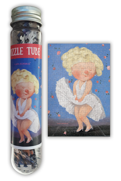 Puzzle Tube Marylin Collection