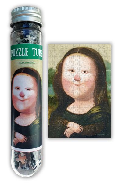 Puzzle Tube Leonardo Collection