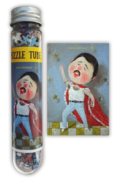 Puzzle Tube Freddie Collection