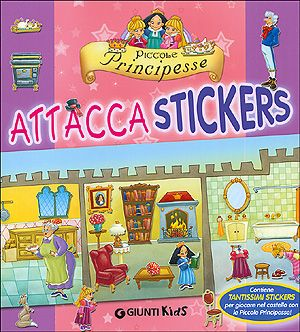Piccole Principesse - Attacca stickers