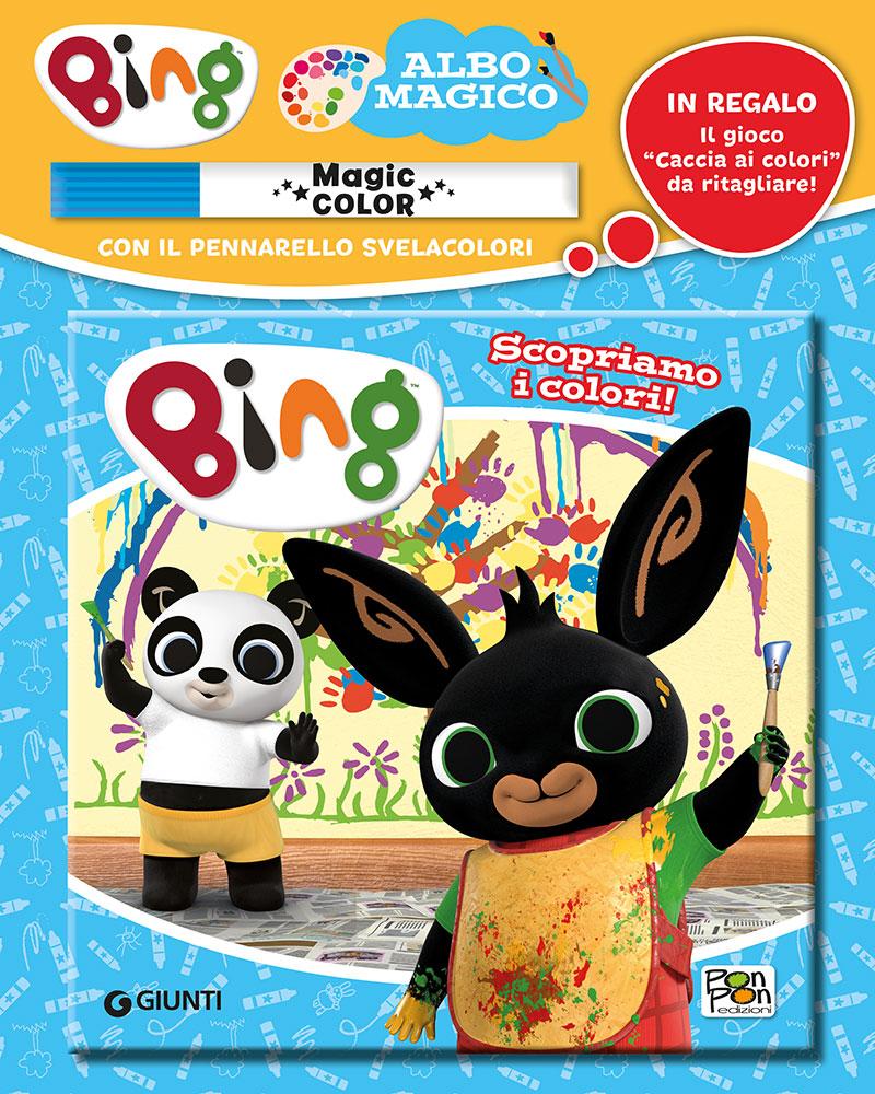 Albo Magico Bing - Scopriamo i colori