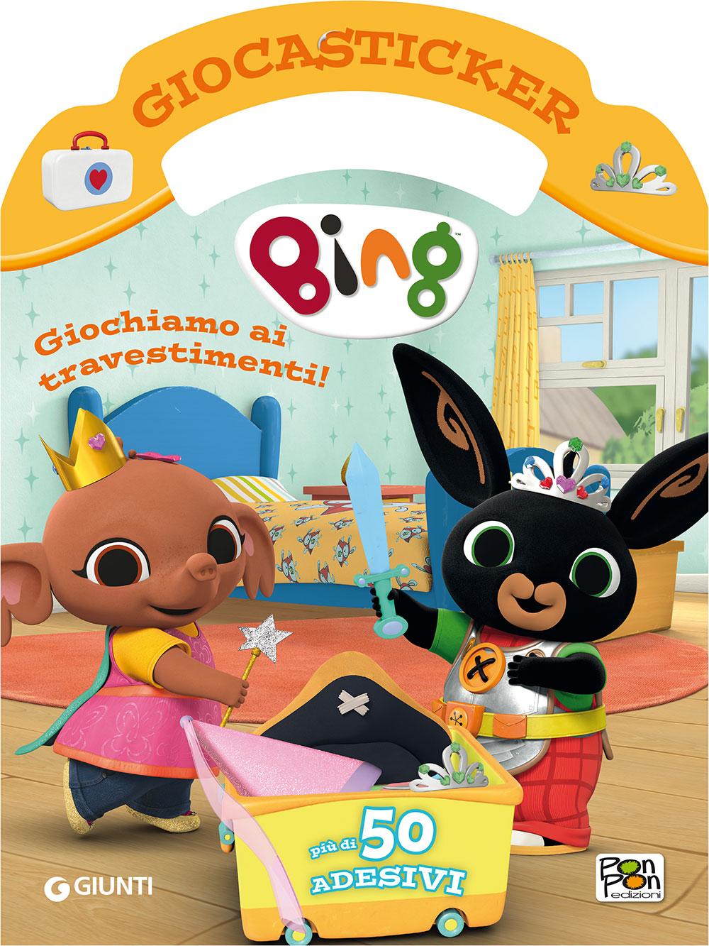 Giocasticker Bing - Giochiamo ai travestimenti