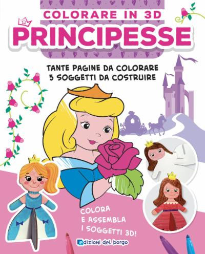 Colorare in 3D - Principesse