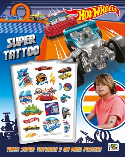 Libro Tattoo Hot Wheels