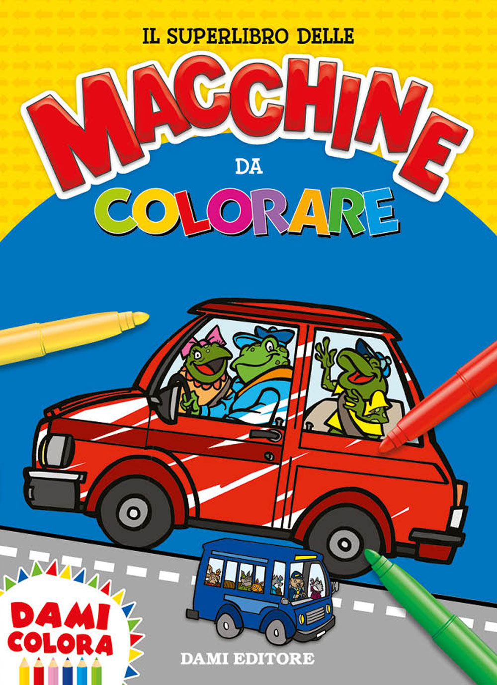 Il Superlibro delle Macchine da Colorare