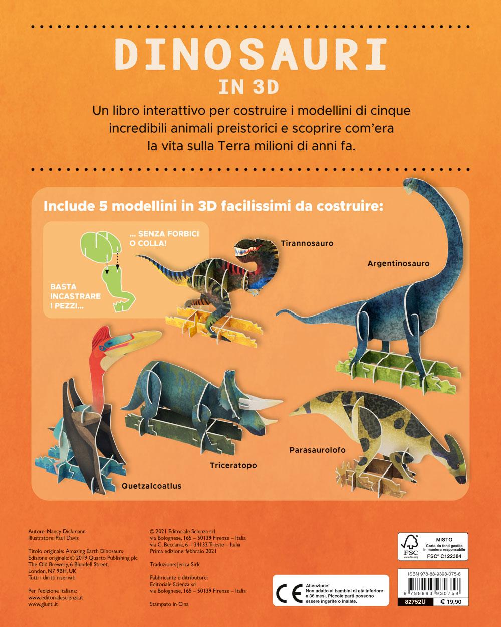 Dinosauri in 3D