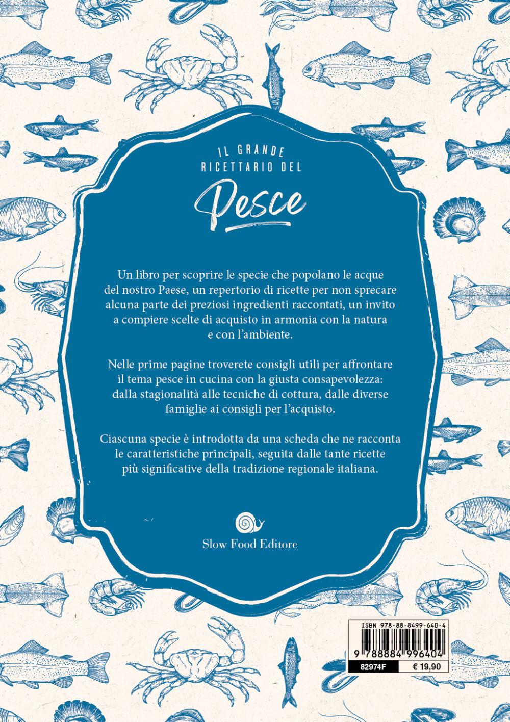 Il grande ricettario del pesce.