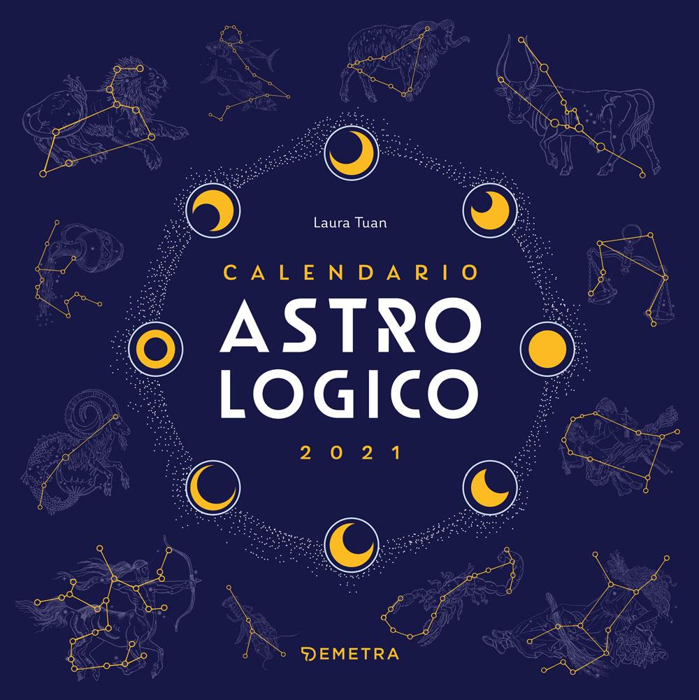 Calendario Demetra 2021 Calendario astrologico 2021, da parete, 30x30 cm   Giunti