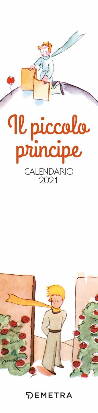 Calendario Il piccolo principe 2021, da parete, 7x30 cm