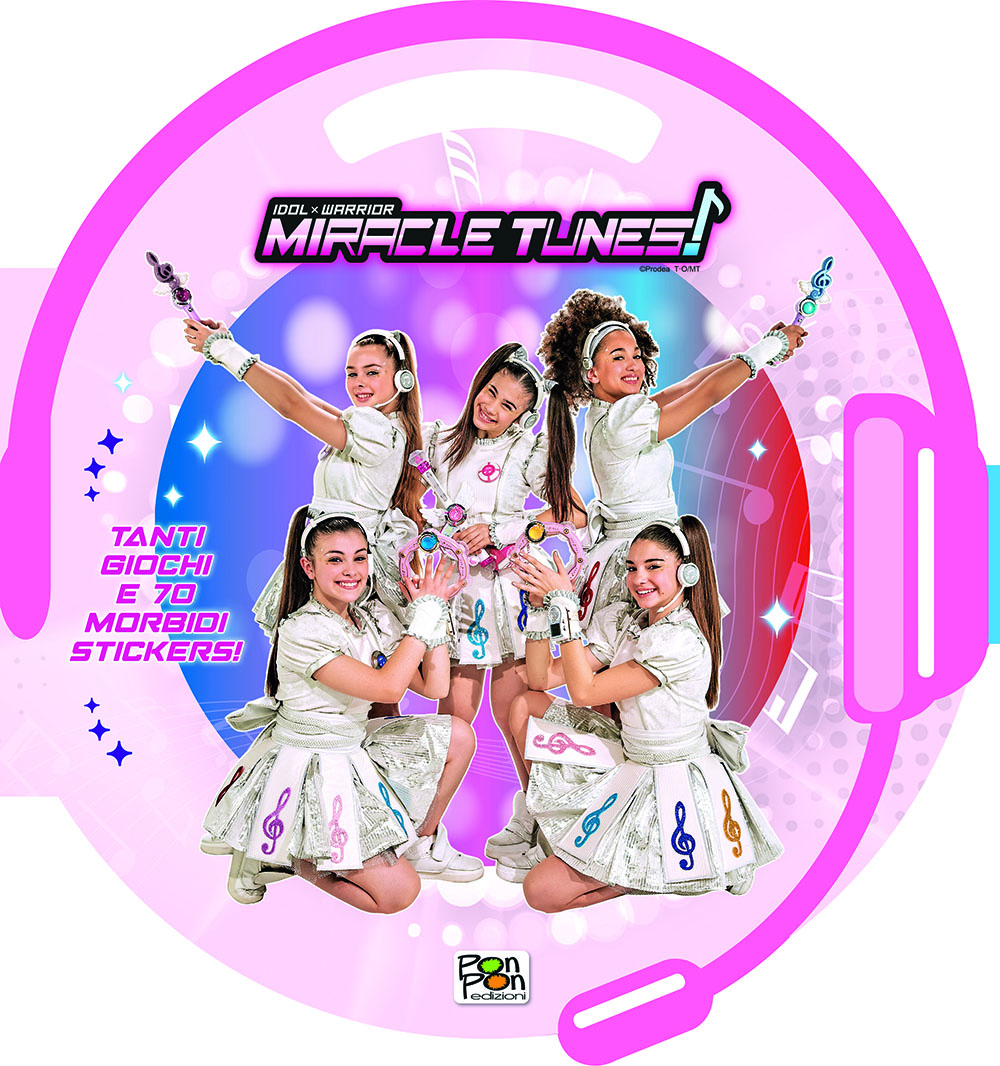 Puffy Sticker Miracle Tunes Unite si vince!
