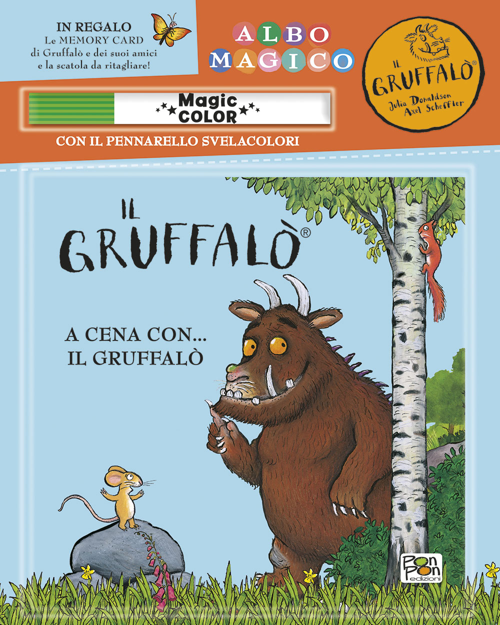 Albo magico. A cena con...il Gruffalò