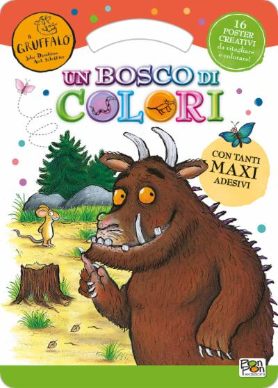Activity Book. Gruffalò Un bosco di colori