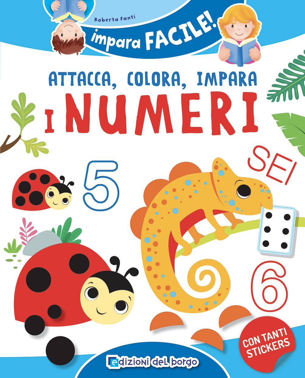 Attaca colora impara i numeri