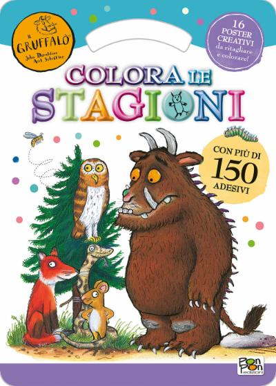 Activity Book. Gruffalò Colora le stagioni