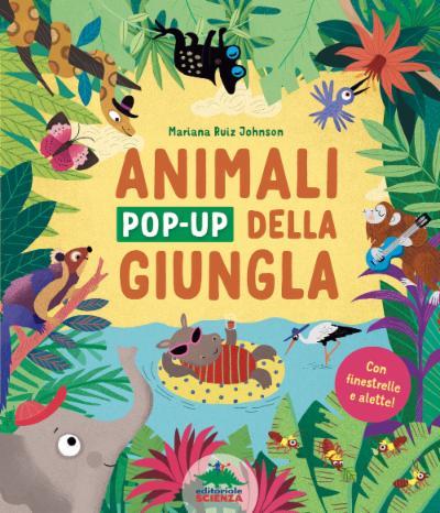 Animali pop-up della giungla