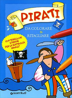 Pirati da colorare & ritagliare