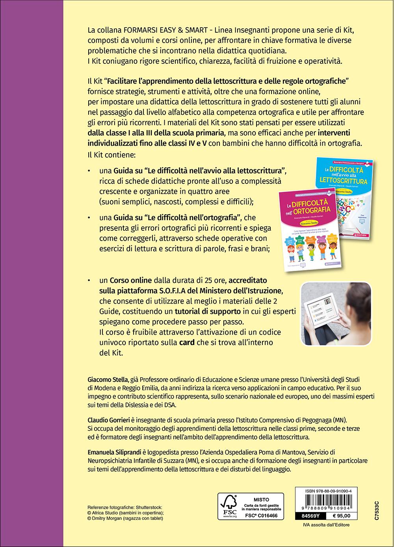 KIT Facilitare l'apprendimento della lettoscrittura e delle regole ortografiche