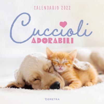 Calendario Cuccioli adorabili 2022