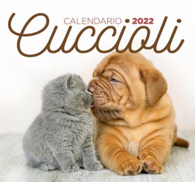 Calendario Cuccioli desk 2022