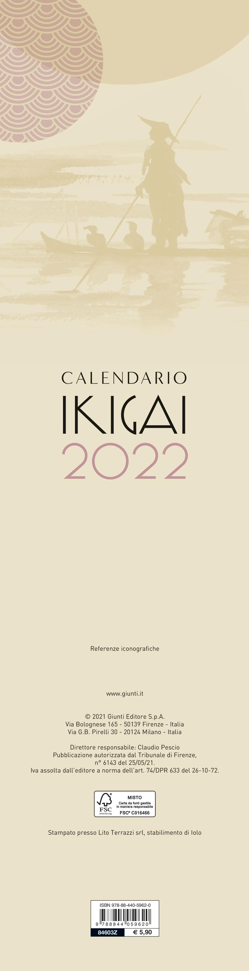 Calendario Ikigai 2022