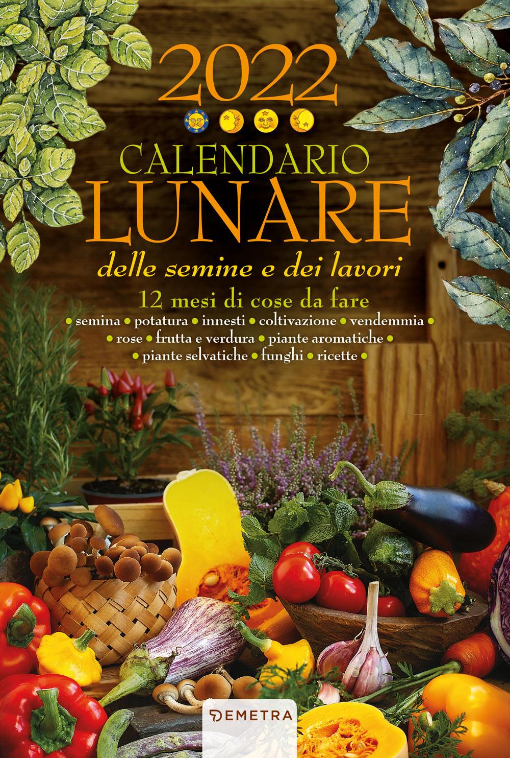 Calendario lunare 2022