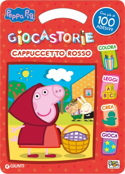 Activity book Peppa Cappuccetto Rosso