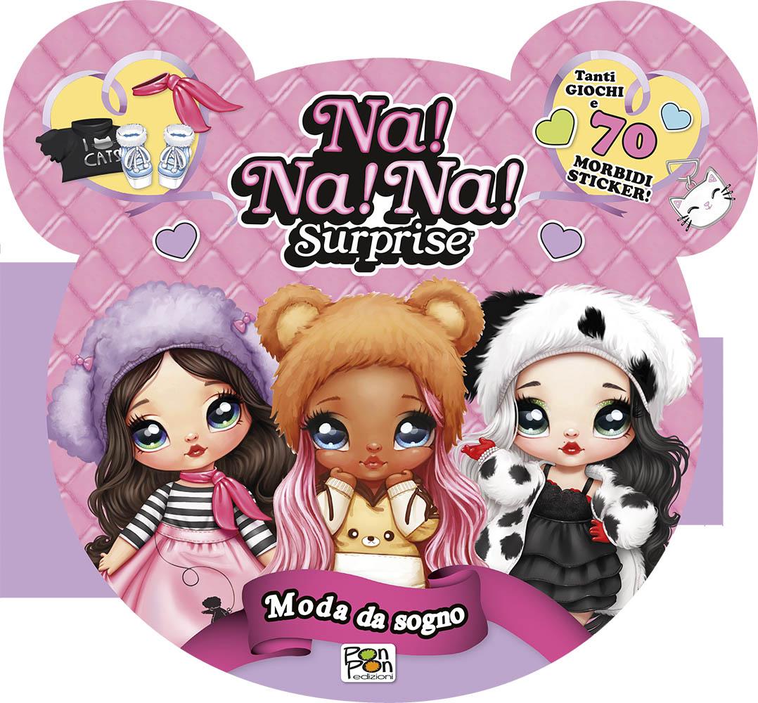 Puffy Sticker. Nanana Moda da Sogno