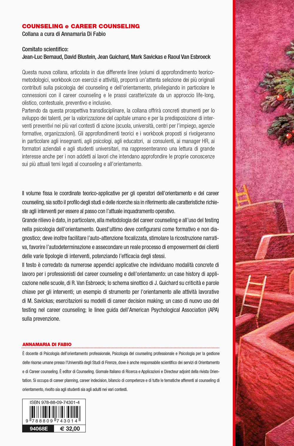 Manuale di psicologia dell'orientamento e Career Counseling nel XXI secolo